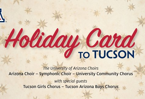 Holiday Card to Tucson