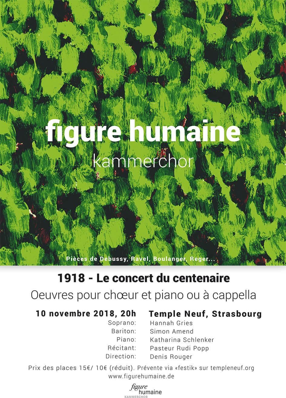 Konzert zum 100jährigen Ende des 1. Weltkriegs