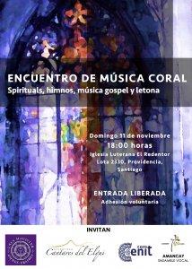ENCUENTRO DE MÚSICA CORAL - Spirituals, Himnos, Gospel y Música Letona