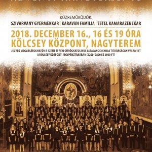 Messze zsong a hálaének - a Lautitia Kóruscsalád Adventi koncertje