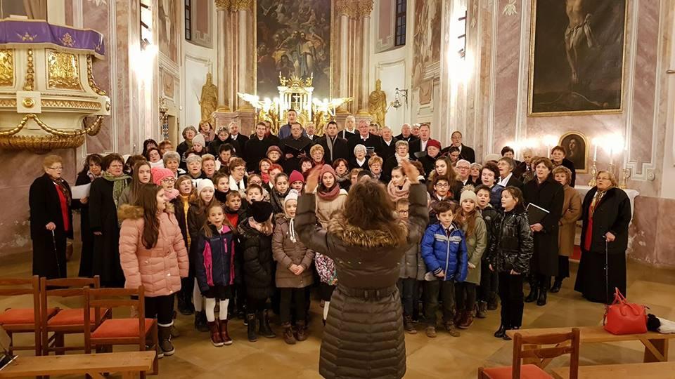 Adventi koncert Nyúlon