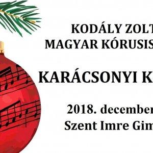 A Kodály Zoltán Magyar Kórusiskola Karácsonyi koncertje