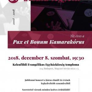 10th Anniversary of the Pax et Bonum Choir
