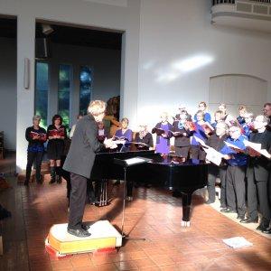 Choir and brassband