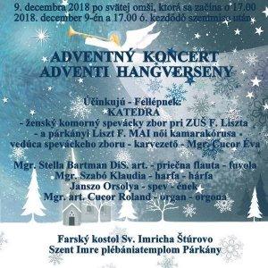 Adventi hangverseny - Adventný koncert