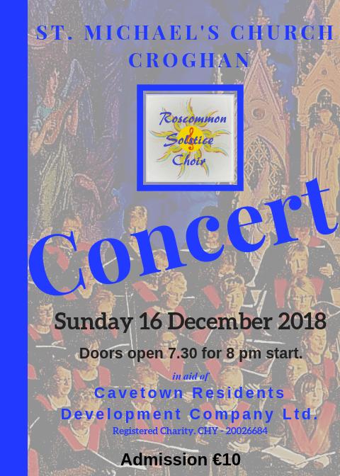Cavetown Christmas Concert 2018