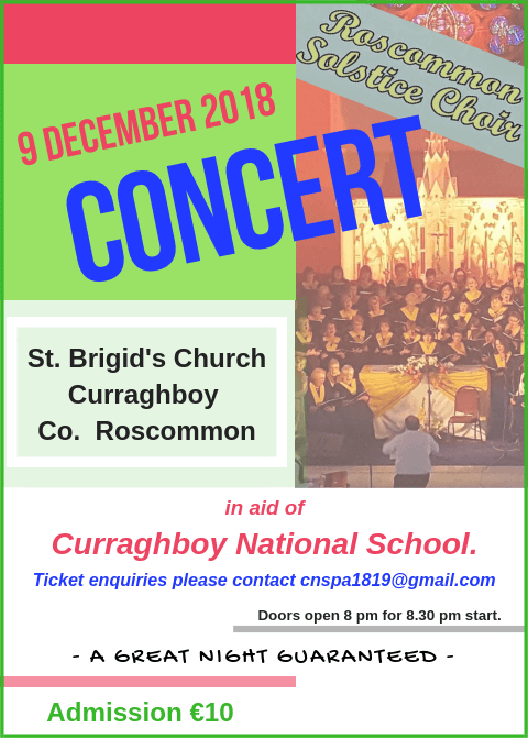 Curraghboy NS Christmas Concert 2018.