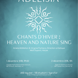 Chants d'hiver: Heaven And Nature Sing 1