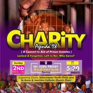 CHARITY AGENDA MUSICAL CONCERT 18 - (Fundraising in aid of Prisoners) 1