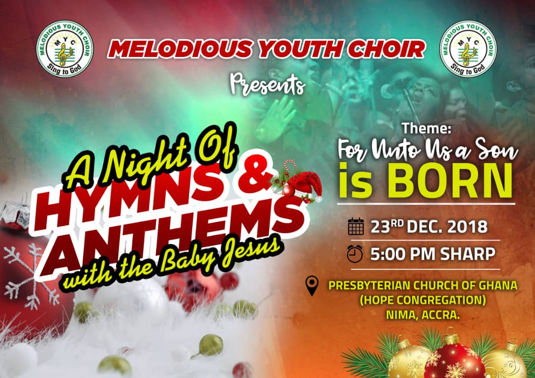 A Night of hymns and anthems 1