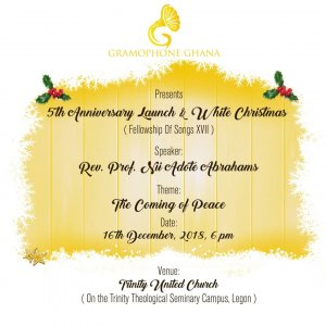 5th Anniversary Launch and White Christmas