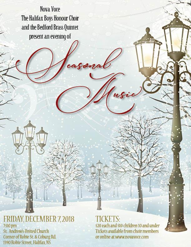 An evening of Seasonal Music