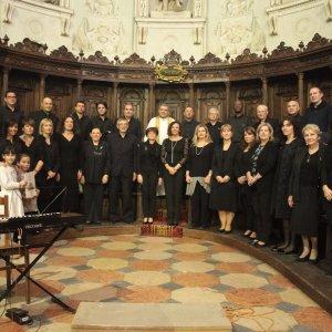 concerto di auguri/40° Coro Polifonico polironiano della Basilica di San Benedetto Po -Mantova -Italia