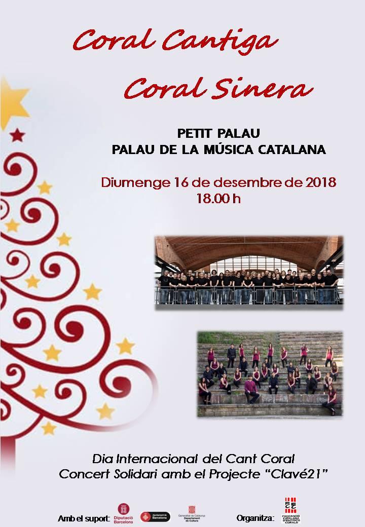 Concert de Nadal - Dia Internacional del Cant Coral