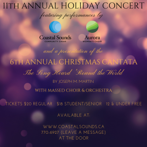 11th Annual Holiday Concert & 6th Annual Christmas Cantata