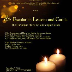 8th Escolarian Lessons and Carols