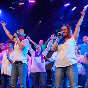Célébrations de Noël du Groupe Vocal Vibrations