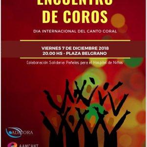 XXI TUCUMÁN CANTA: Encuentro de Coros por el Día Internacional del Canto Coral 1