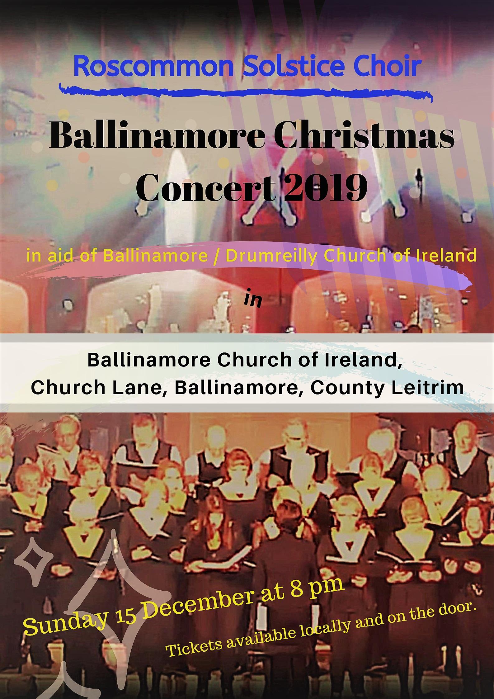 Ballinamore Christmas Concert 2019