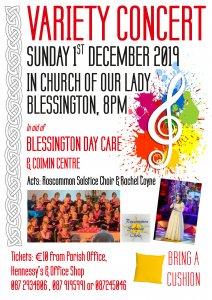 Blessington Christmas Variety Concert 2019