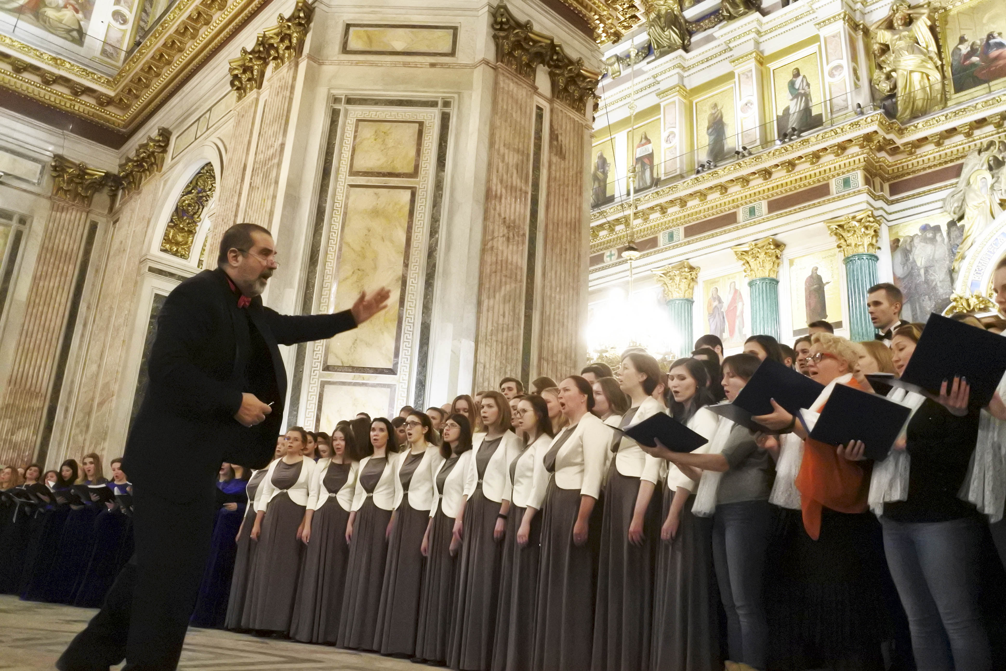 """Opening concert of International choral festival """"IN ANTICIPATION OF CHRISTMAS"""""""
