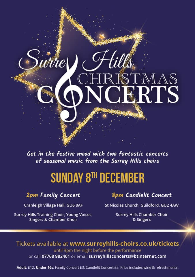 Surrey Hills Christmas Family Concert