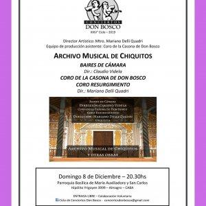 Archivo musical de Chiquitos y otras obras