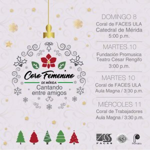"""Coro Femenino de Mérida """"Cantando entre Amigos"""""""