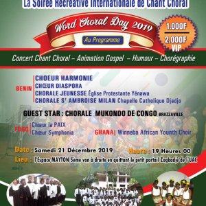 Soirée Récréative International de Chant choral