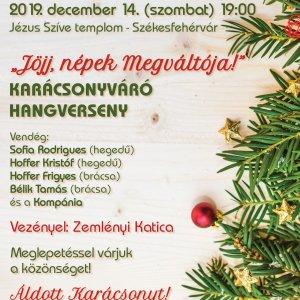 Jöjj, népek Megváltója! Christmas concert