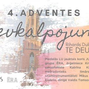 Fourth Advent Church Service | Rihards Dubra TE DEUM