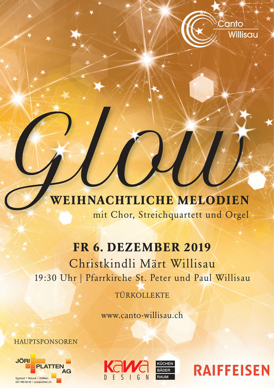 GLOW – Christmas Market Concert