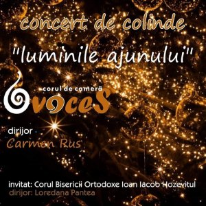 "Carol and Christmas Songs Concert ""The Lights of the Christmas Eve"""