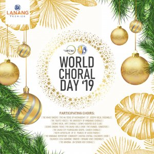 9th World Choral Day 2019 in Davao City