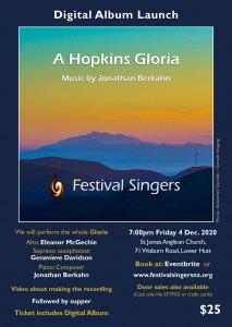 """""""A Hopkins Gloria"""" digital album launch concert"""